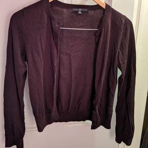 Gap XS Purple Cardigan